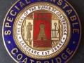 Coatbridge Burgh Police Special Constable Badge