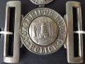 Coatbridge Burgh Police belt buckle