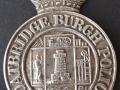 Coatbridge Burgh Police cap badge